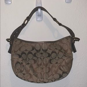 Small Coach Hobo Handbag